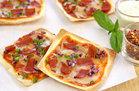 Healthy Pizza Recipes Under 300 Calories: Wonton Pizzas