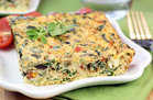Hungry Girl's Healthy Greek-Style Egg Bake Recipe