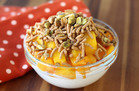 Hungry Girl's Healthy Peach Mango Bowl Recipe