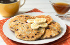 Hungry Girl's Healthy 5-Ingredient Banana-Chocolate Blender Pancakes Recipe