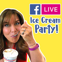 It's a Virtual Ice Cream Party on the Hungry Girl Facebook Page!