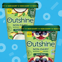 Outshine Non-Dairy Banana-Based Frozen Fruit Blend
