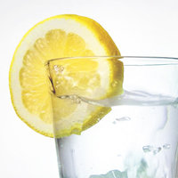 Easy Ways to Drink More Water: Add a splash of citrus to your water
