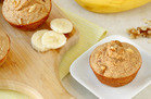 Hungry Girl's Healthy Banana Walnut Blender Muffins Recipe