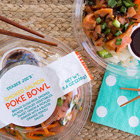 Trader Joe's Smoked Salmon Poke Bowl