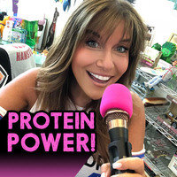 """The Protein-Packed Episode"" of Hungry Girl: Chew the Right Thing!"