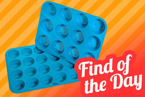 Amazon Find of the Day: Silicone Muffin Pans (2 sizes!)
