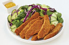 Hungry Girl's Healthy Fiber-ific Fried Chicken Strips Recipe