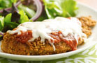 Hungry Girl's Healthy Pan-Fried Chicken Parm Recipe