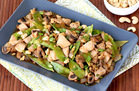 Hungry Girl's Healthy Sheet-Pan Cashew Chicken Recipe