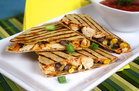 Hungry Girl's Healthy SW BBQ Chicken Quesadilla Recipe
