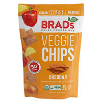 Hungry Girl Amazon Find: Brad's Veggie Chips in Cheddar