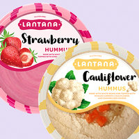 Lantana Hummus in Strawberry and Cauliflower
