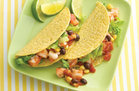 Hungry Girl's Healthy Shrimp Cocktail Tacos Recipe