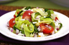Hungry Girl's Healthy Zucchini-Ribbon Salad Recipe