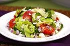 Hungry Girl's Healthy Zucchini-Ribbon Salad Recipe