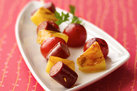 Hungry Girl's Healthy Fresh & Fruity Hot Dog Skewers Recipe
