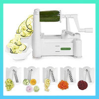 Go-To Kitchen Gadgets: Spiralizer 5-Blade Vegetable Slicer