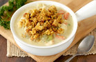 Hungry Girl's Healthy Creamy Dreamy Turkey Soup Recipe