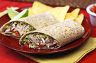 Hungry Girl's Healthy Spicy Black Bean & Avocado Turkey Wrap Recipe
