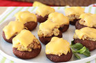 Hungry Girl's Healthy Tuna Melt Stuffed Mushrooms Recipe