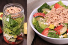 Hungry Girl's Healthy Fruit 'n Feta Tuna Salad in a Jar Recipe