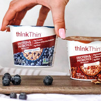 thinkThin Protein & Probiotics Hot Oatmeal