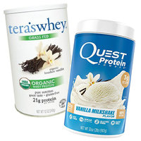 More Lean Proteins: Vanilla Protein Powder (with about 100 calories per serving)