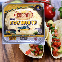 Crepini Mini Egg White Thins