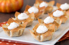 Hungry Girl's Healthy World's Cutest Pumpkin Pies Recipe