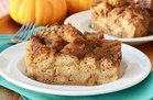 Hungry Girl's Healthy Perfect Pumpkin Bread Pudding Recipe