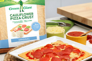 Hungry Girl & Green Giant - Healthy Perfect Pepperoni Pizza Recipe