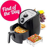 Amazon Find of the Day: Secura 3.4 QT Electric Hot Air Fryer and Accessories