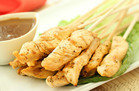 Hungry Girl's Healthy Hip-Hip-Hooray Chicken Satay Recipe