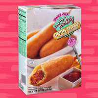 Trader Joe's Turkey Corn Dogs Batter Dipped Turkey Franks