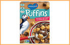 100-Calorie Chocolate Fixes: 2/3 cup Barbara's Peanut Butter & Chocolate Puffins