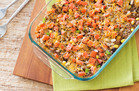 Hungry Girl's Healthy Cheesy Taco Casserole Recipe