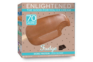 100-Calorie Chocolate Fixes: Enlightened The Good-For-You Ice Cream Fudge Bar