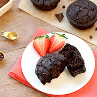 Hungry Girl's Healthy Double Chocolate Blender Muffins Recipe