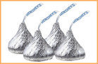 100-Calorie Chocolate Fixes: 4 Milk Chocolate Hershey's Kisses
