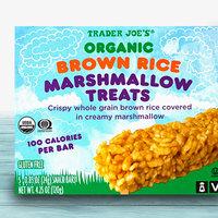 Trader Joe's Organic Brown Rice Marshmallow Treats