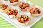 Hungry Girl's Healthy Merry Cranberry Pear Tarts Recipe