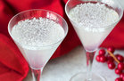 Hungry Girl's Healthy Snowflake Coconut Lime Martinis Recipe