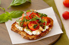 Hungry Girl's Healthy Caprese Ricotta Toast Recipe