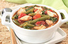 Tomato & Green Bean Slow-Cooker Chicken