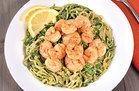 Healthy No-Noodle Pasta Swap Recipes: Zucchini Spaghetti with Shrimp