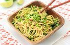 Healthy No-Noodle Pasta Swap Recipes: Cold Sesame Zucchini Noodles