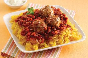 Healthy No-Noodle Pasta Swap Recipes: Spaghetti Swap & Meatballs