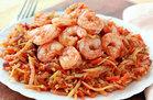 Healthy No-Noodle Pasta Swap Recipes: Shrimp 'n Slaw Marinara