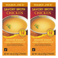 Trader Joe's Savory Broth Chicken Flavor Reduced Sodium Liquid Concentrate